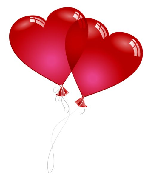 heart balloons red hearts