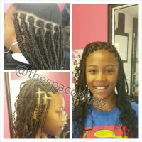 Individual braids | kids natural hairstyles | Pinterest ...