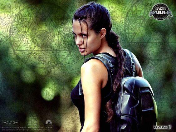 Angelina Jolie Tomb Raider Lara Croft Lara Croft Pinterest