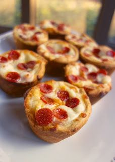 Deep Dish Pizza Cupcakes Recipe - Great for Game Day!: