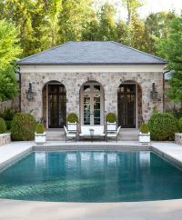 Gardens, Pool houses and Beautiful on Pinterest