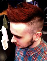 red hair mens styles