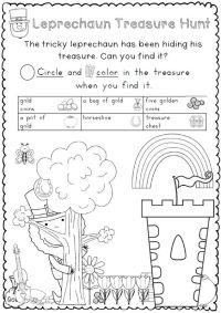 St. Patrick's Day Reading and Writing Worksheets - 36 ...