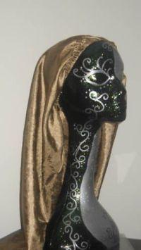 Extra Large Bronze Sleeping Cap for Dreadlocks, Locs, Long ...