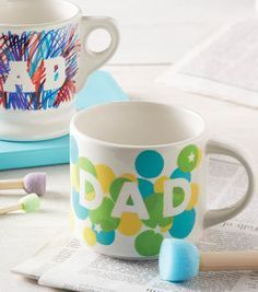 Dad's Day Coffee Mug | DIY Father's Day Gifts | Father's Day Gift Ideas: