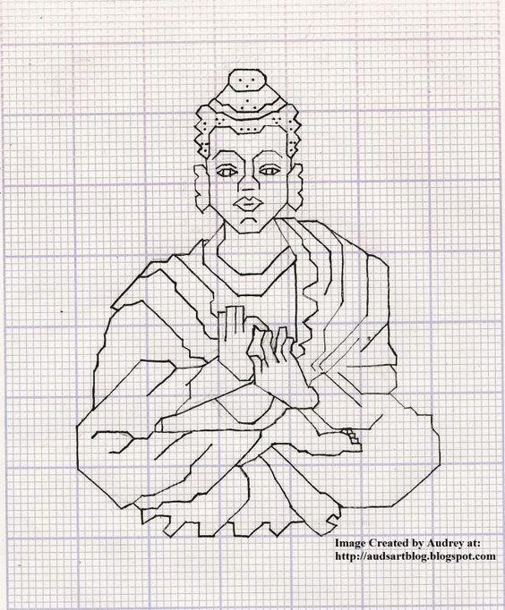 Cross stitch patterns, Stitch patterns and Buddha on Pinterest