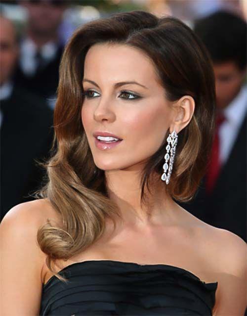Kate Beckinsale Lange Frisur Mit Scheitel Starfrisuren Health