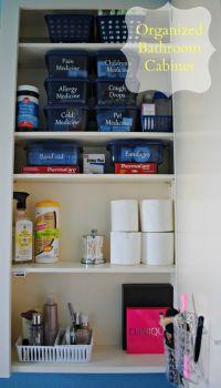 Organizing Medicines, First Aid Supplies & Makeup ...
