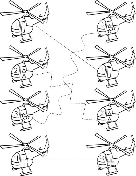 Helicopters, Worksheets and Templates on Pinterest