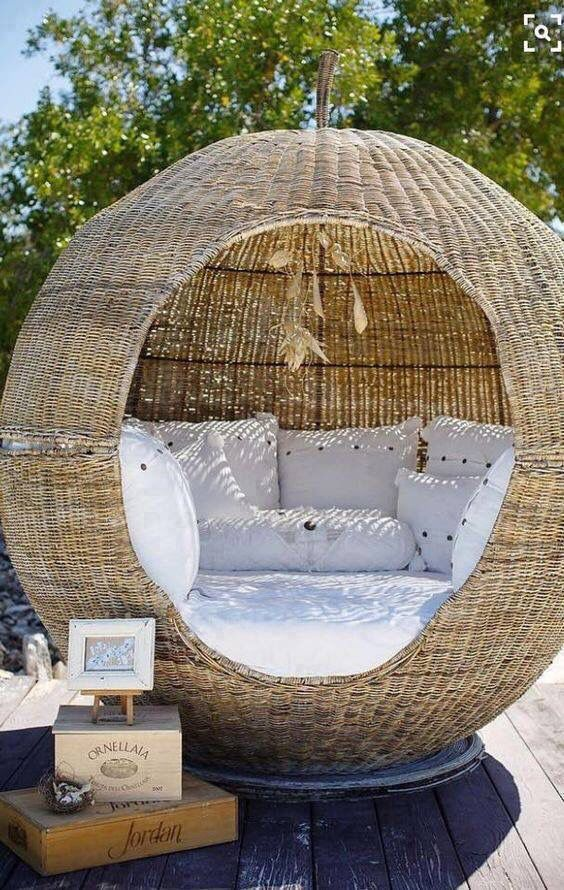 small comfy sofa beds traditional style sectional sofas rattan, rattan chairs and seating areas on pinterest