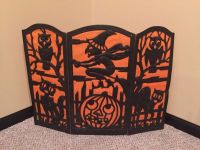Fireplace screens, Vintage halloween and Fireplaces on ...