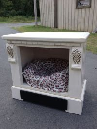 Dog bed Made from nightstand | Doggie beds by Kristy ...