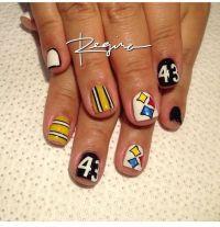 Pittsburgh Steeler nails | Steeler's!! | Pinterest ...