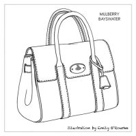 Sketch drawing, Designer handbags and Sketches on Pinterest