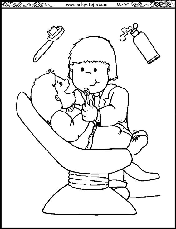 Police Coloring Pages Helping Children