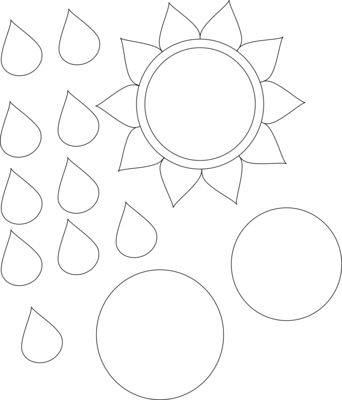 Free Sunflower Paper Piecing Pattern for Cards and