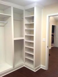 The doors, Built ins and Closet redo on Pinterest