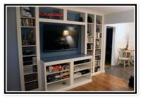 Ikea Billy Bookcase Entertainment Center