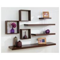 floating shelf arrangement | Cool Homes | Pinterest | I ...