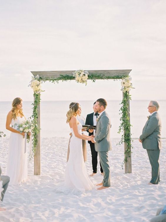 beach wedding ideas: