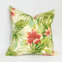 Tropical flowers, Tropical and Outdoor pillow on Pinterest