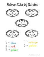 Batman, Preschool and Printables on Pinterest