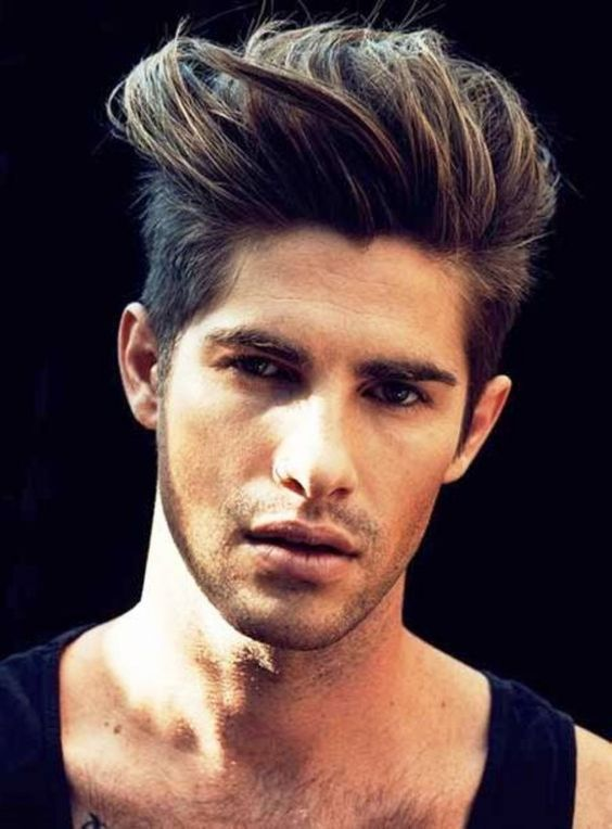 The Cool Brushed Up Hairstyle Mens Haircuts 2014 Mens Haircuts