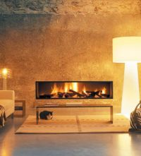 Contemporary fireplaces, Fireplaces and Modern on Pinterest
