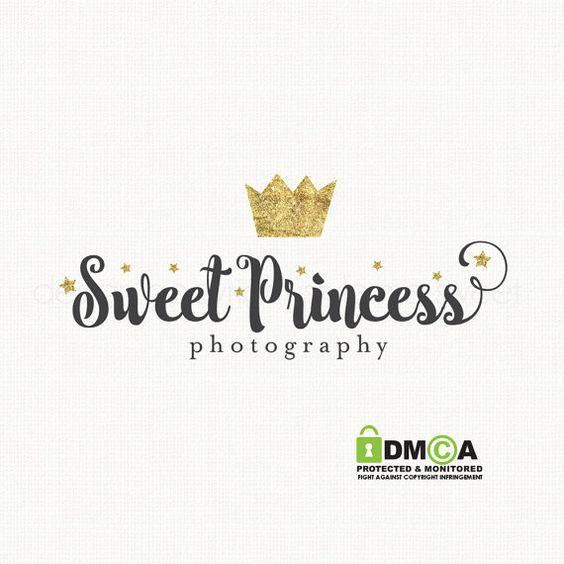 crown logo design princess logo design by