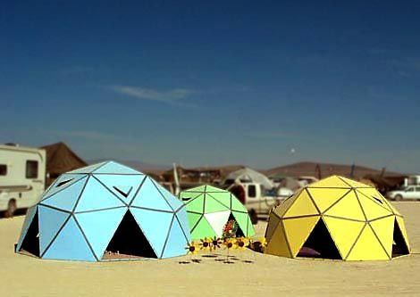 Geodesic Dome, How To Build And Burning Man On Pinterest