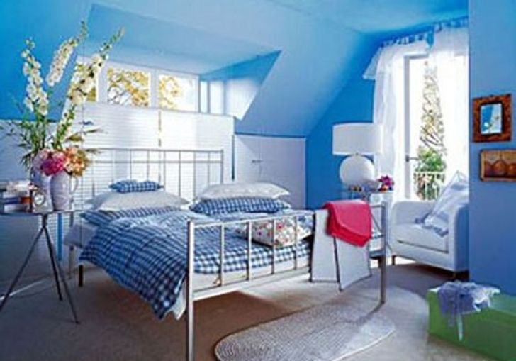 Blue Paint Colors For Girls Bedrooms