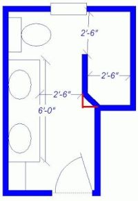 Small Doorless Shower Designs | doorless shower dimensions ...