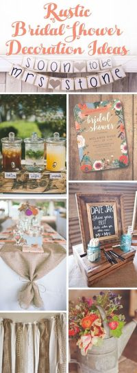 1000+ ideas about Burlap Bridal Showers on Pinterest