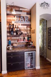 Wine Bar, Pallet wall, bar, modern, contemporary ...