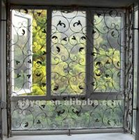 Most Popular Sliding Window Grill Design Of Wrought Iron ...