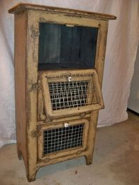 Brown County Vegetable and Utility Cabinet by