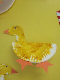 Duck crafts, Ducks and Paper plates on Pinterest