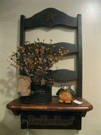 Repurposed chair | Shelf Ideas | Pinterest | Chairs ...