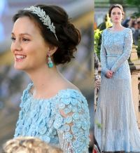this is blair's wedding dress from the series finale of ...