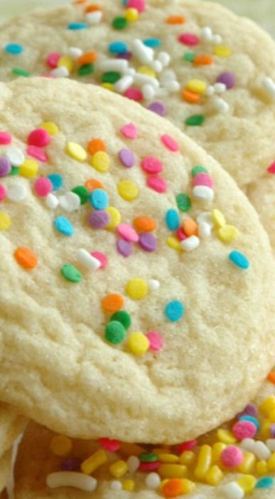 Sugar cookies Recipes for and Chewy sugar cookies on