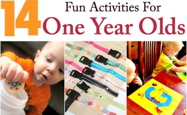 14 Fun Activities For Your 1 Year Old Toys Fine Motor