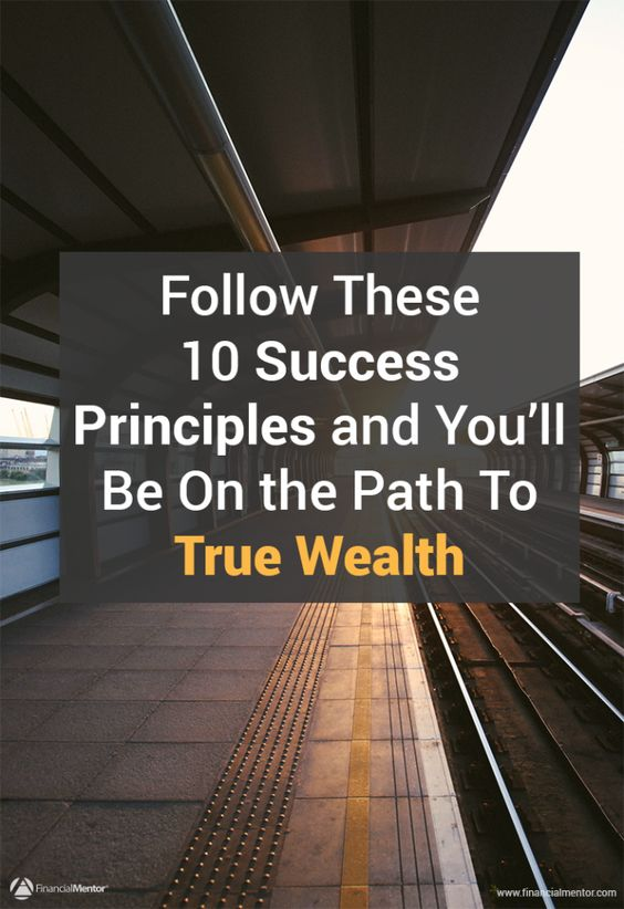 The objective is not just to become rich, but to build a balanced, fulfilling, wealthy life. Following these ten success principles will put you on the path to true wealth -- because life is too short to settle for anything less.:
