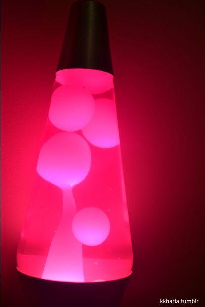 Pink Lava Lamps