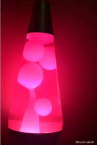 Pink Lava Lamps