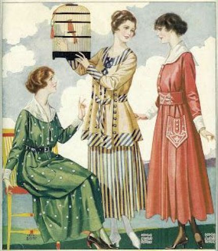 Women's Fashion: 1917 Clothes Catalog: