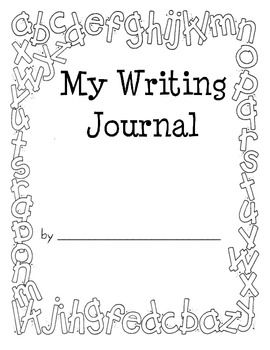 Writing journal covers, Work on writing and Writing