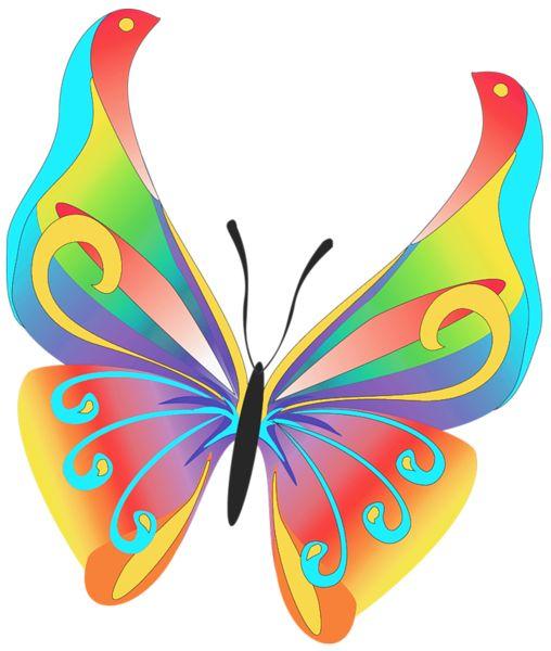 butterfly art clipart butterflies
