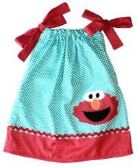 elmo pillowcase dress   Munchkinchild's birth celebrations ...