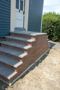 Stair, : Mesmerizing Home Exterior Design Ideas Using