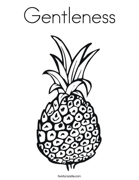 Gentleness, Coloring pages and Fruit of the spirit on